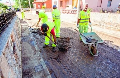 Diputación no descarta solicitar la declaración de zona catastrófica