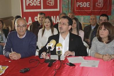 De Lara repite en la lista del PSOE que volverá a encabezar Díaz-Cacho