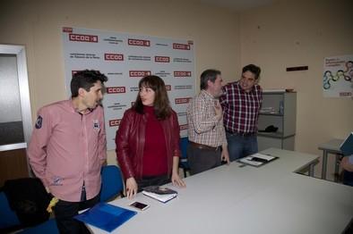 Arnao destaca que Ganemos será el proyecto político de los trabajadores