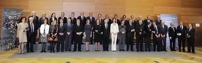 La Reina Sofía recibe un premio y agradece «el gran cariño» de Toledo