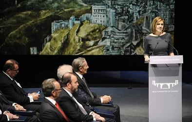 Cospedal: «El legado de Toledo es un emblema de lo que quiere ser el país»
