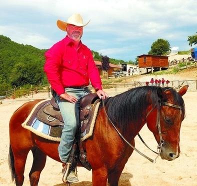 El cowboy de Obarenes que ama a los caballos