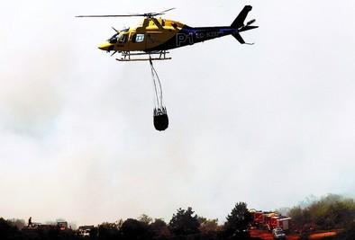 El monte Hijedo se salva del grave incendio que arrasa Valderredible