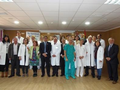 Echániz cree que el nuevo hospital será una realidad en dos años