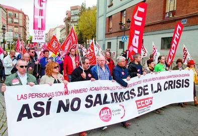 La derogación de la reforma laboral centró las reivindicaciones del Primero de Mayo