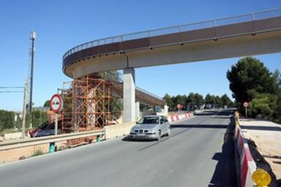La pasarela peatonal y ciclista del Urbanitas estará lista en junio