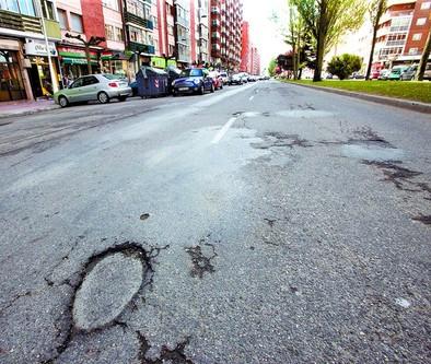La avenida Eladio Perlado se queda fuera de la campaña de aglomerado