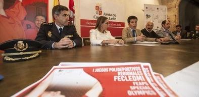 Ávila estrena las 'Olimpiadas Regionales' para personas con discapacidad