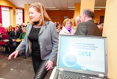 Del Olmo anima a sumarse al proyecto que conecta los registros públicos