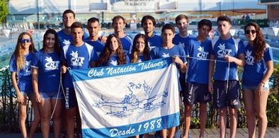 Botín de trece medallas para los nadadores del CN Talavera