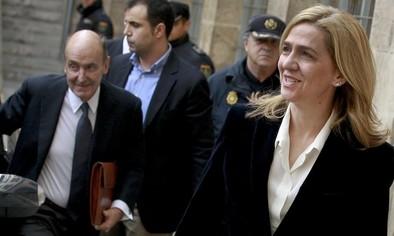 La Audiencia rebaja la fianza de la Infanta de 2,7 millones a 449.525 euros