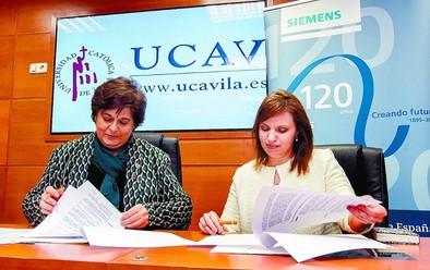 La UCAV estrena nuevo laboratorio tras un convenio con Siemens