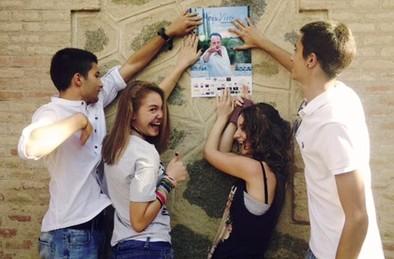 Los alumnos del IES Sefarad, voluntarios del 'Voix Vives'
