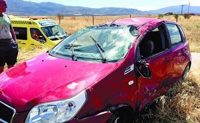 Un fallecido en una colisión entre un turismo y una furgoneta en Rasueros