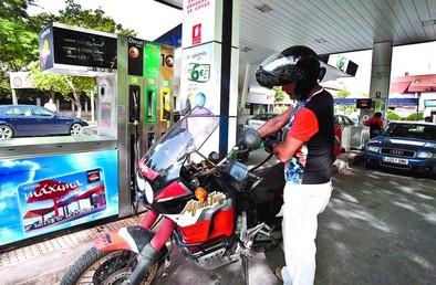 La gasolina se toma un respiro