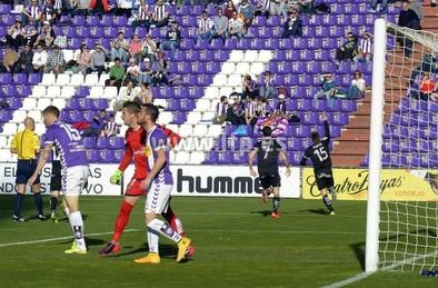 Hundimiento en Zorrilla (0-1)