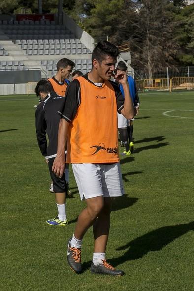Borja: «Le debo mucho al club y no me importaría jugar en Tercera»