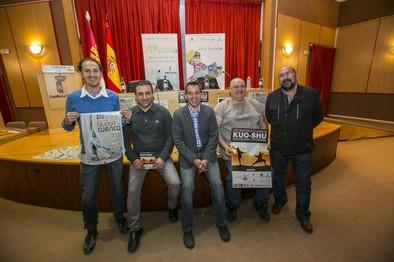 Los torneos de gimnasia rítmica y kuo-shu dan vigor a Cuenca
