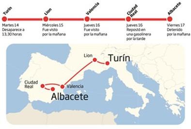 Detienen en la ciudad al italiano que huyó con su bebé desde Turín