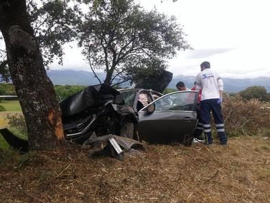 Una persona muerta y otras cuatro heridas graves en un accidente en La Adrada