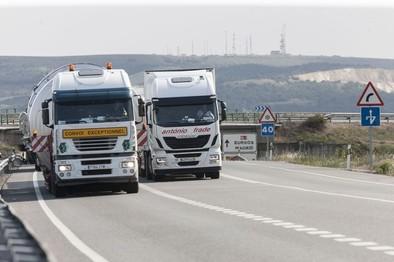 Esta noche entra en vigor la bonificación para vehículos pesados en la AP-1