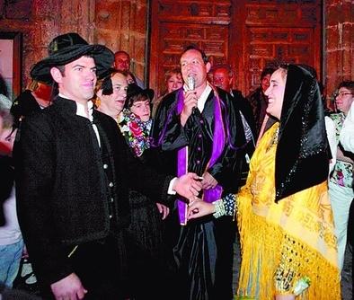 La Asociación Pedro Vaquero recreará este sábado la boda tradicional