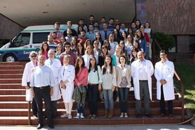 El CHUA recibió a 44 residentes de Farmacia, Medicina y Enfermería