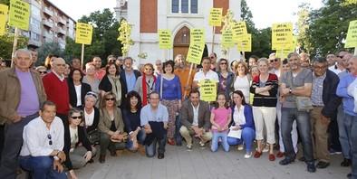 Nueva protesta por la supresión del paso a nivel de La Pilarica