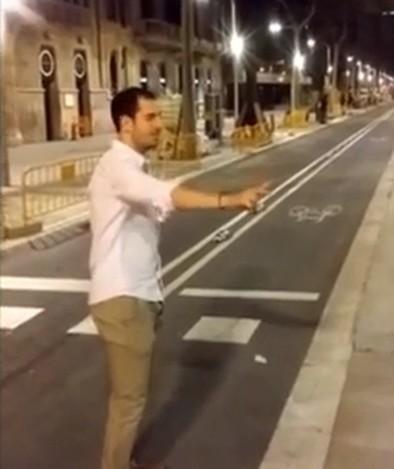 Un talaverano imputado por el vídeo de la patada a una mujer en Barcelona