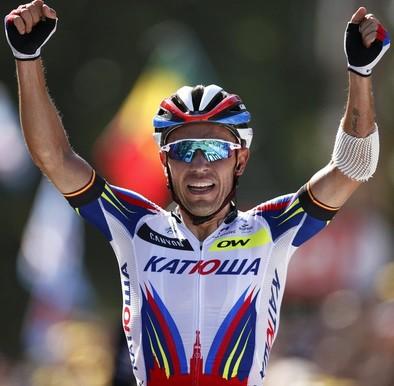 'Purito' triunfa en Huy
