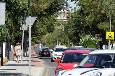 La antigüedad media del parque móvil de la capital es de 9,6 años