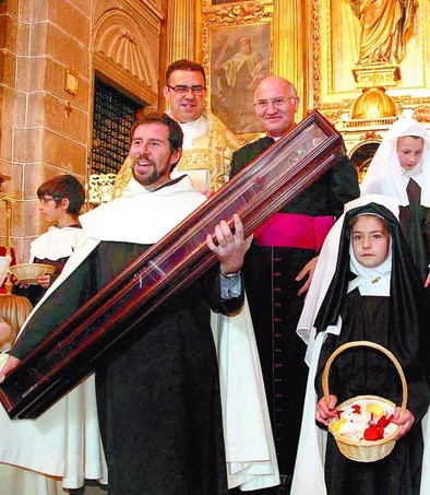 El bastón de La Santa llega el sábado a la cuna de San Juan de la Cruz