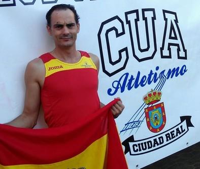 Santiago Mascaraque compite en el Mundial de Veteranos
