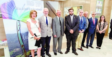 El rector de la UNED garantiza la continuidad de la sede de Ávila en los futuros cursos