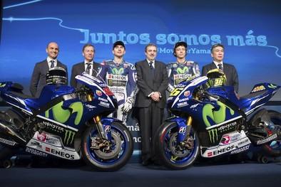 Telefónica presenta el Movistar Yamaha MotoGP