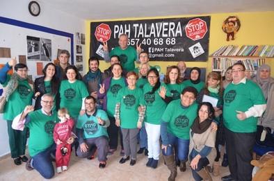 La PAH ha atendido unos 300 casos de Talavera y comarca en sus dos años de vida