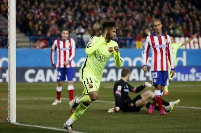 Neymar pone al Barça en semifinales