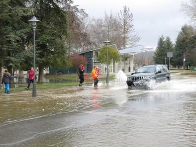 El norte de Burgos registra el doble de precipitaciones de lo habitual
