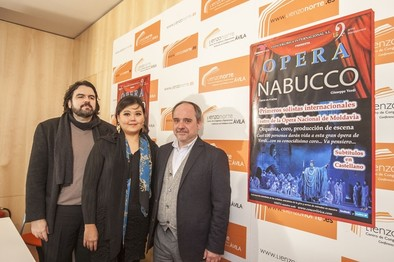 'Nabucco', obra maestra de la ópera, se representa el 12 de marzo en Ávila