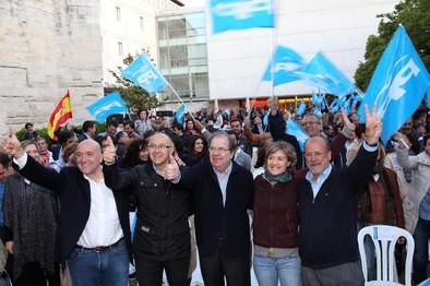 León de la Riva garantiza la victoria del PP en Valladolid y anuncia que será su última candidatura a la Alcadía