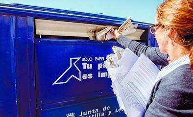 La crisis y los robos hacen que la recogida de papel se reduzca a la mitad en Ávila