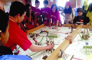 Alumnos del IES Sierra del Valle, premiados en el First Lego League