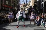 Desfile de Piñata en Ciudad Real
