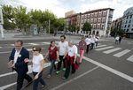 Cadena humana de La Pilarica para protestar por sus 250 días