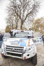 La burgalesa Cristina Gutiérrez se despide antes de competir en enero en el Dakar.