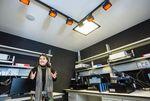 Nuevas instalaciones del laboratorio de luminiscencia.