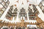 Inauguración de las obras de rehabilitación de la Capilla de Santa Catalina de la Catedral burgalesa.