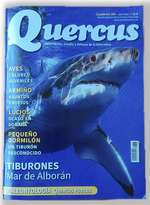 Tiburones en el mar de Alborán