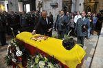 Funeral del guardia civil fallecido en accidente de tráfico