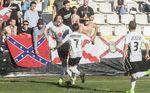 Gran victoria del Burgos C.F. frente al Logroñés que le sitúa como único equipo en categorías nacionales que aún no ha recibido un gol
